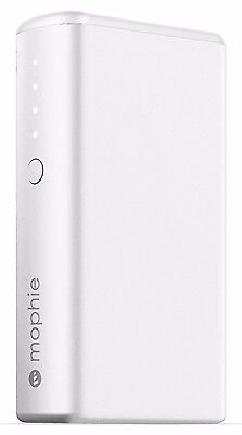 mophie Powerstation External Battery for Smartphones Tablets (5,200mAh) - White
