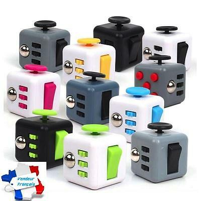FIDGET CUBE spinner Soulagement Anti-Stress Relief Adultes Enfants Cadeau EDC