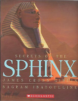 SECRETS OF THE SPHINX Book EGYPT History EGYPTIAN Kids ANCIENT Geography MUMMY