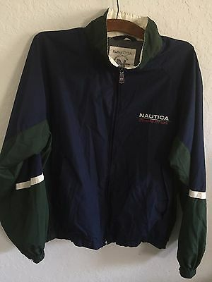 Vintage Nautica Competition Full Zip Jacket Nautex Men's Size MEDIUM