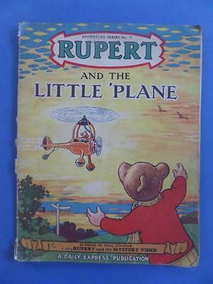 Adventure Series 7 Rupert And The Little Plane!