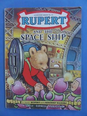 Adventure Series 19 Rupert And The Spaceship! Nice!
