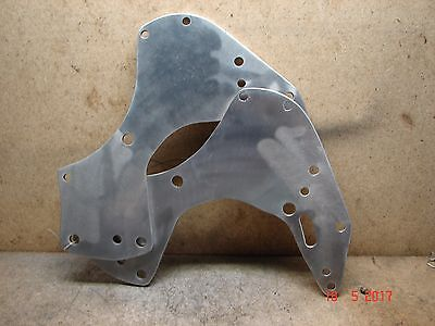 A J S Matchless Pre 56 alloy compy engine plates