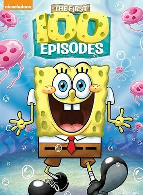 SpongeBob Squarepant - SpongeBob SquarePants: The First 100 Episodes [New DVD] B