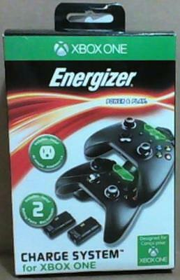 NEW Microsoft Energizer 2X Charging System for Xbox One Standard Edition Black