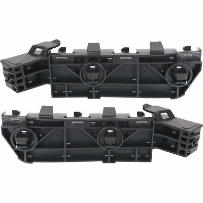 Front Right+Left Side New Set of 2 Bumper Face Bar Brackets Coupe LH /& RH Pair