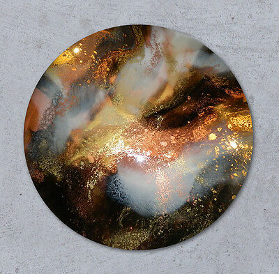 75cm Resin Art Painting  - ORBIT