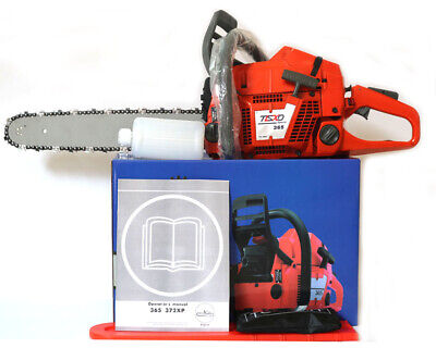 "HUS365 Gasoline saw 65CC 3.4kw CHAIN SAW Heavy Duty Chainsaw with 20""Blade"