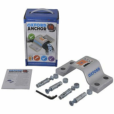 Oxford Anchor 14 Bike Cycle Bicycle Security Anti Theft Ground / Floor Anchor