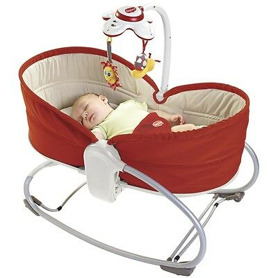 Tiny Love 3 in 1 Baby Rocker, Infant Musical Vibrating Napper & Feeding Seat