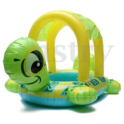 Tortoise Shape Kids Child Baby Inflatable Pool Float Seat Boat Water Swim Ring