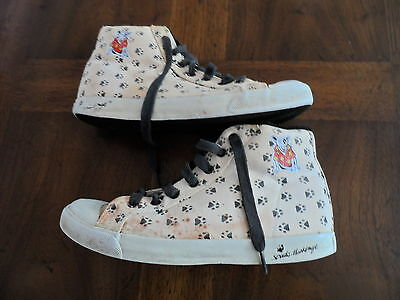 ~Spuds Mackenzie Sneaker Shoes 7 M by Anheuser Busch Vintage about 1985 RARE