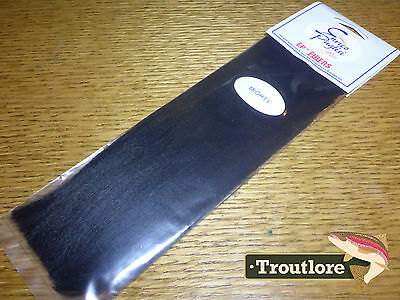 Ep Mighty Fibers Black Enrico Puglisi - New Fly Tying Wing & Body Material