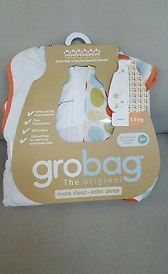 Grobag Baby Sleeping Bag Gro-ing Places For Travel, 6-18 months, Size Medium