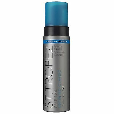 St Tropez Self Tan Untinted Classic Bronzing Mousse 200ml for women