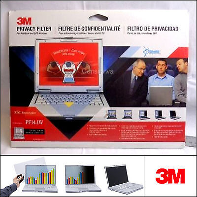 3M PF14.1W Laptop LCD Monitor Privacy Filter (14.1 inch)