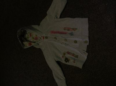 Girl's Next hooded jacket 12-18 months