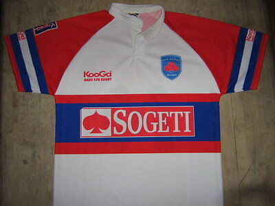 Maillot rugby F.C. Grenoble porté N°14  XL