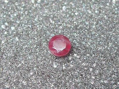 Gemstone Loose Natural Ruby Faceted Oval Cut
