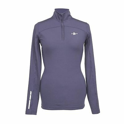 Shires Beijing Base Layer Top Ladies- Red/Navy/Plum