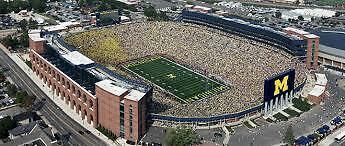 2 University of Michigan Football 2017 Season Tickets - Directly on Aisle!