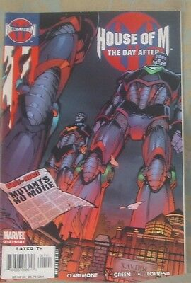 HOUSE OF M: THE DAY AFTER Issue 1 January 2006 Marvel Comics Avengers X-Men