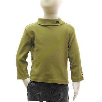Janie and Jack 18-24M Boy Winter Green 100% Cotton Turtleneck Long Sleeve Shirt