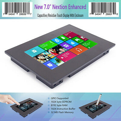 "7.0"" Nextion Enhanced HMI Smart LCD Module Resistive & Capacitive Touch Panel"