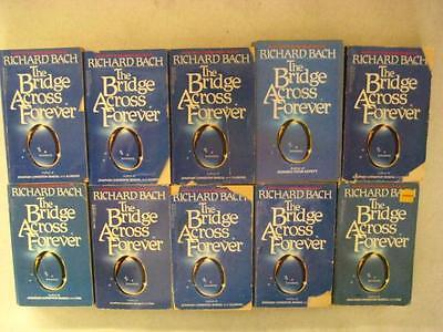 BIG Lot of (10) RICHARD BACH Books THE BRIDGE ACROSS FOREVER: A LOVE STORY