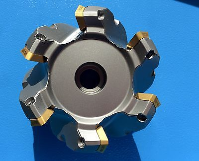ZCC-CT 1 x Face Mills fma01-080-a27-se12-06 + Sumit 50 x SEMT 13T3 agsrg ACP200