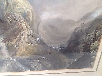 Antique Oil Painting Print By J M W Turner Ra