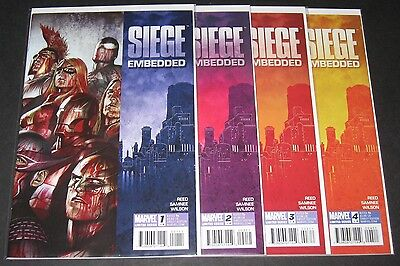 Siege: Embedded 1, 2, 3, 4 Complete Set (2010, Marvel) 1st Print lot