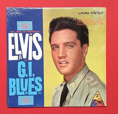 Elvis Presley- Very Very Hard To Find Living Stereo Copy Of Gi Blues