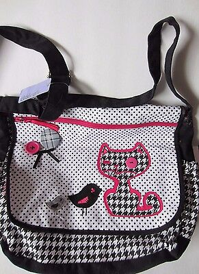 Patchwork Cat Purse- New w/tags