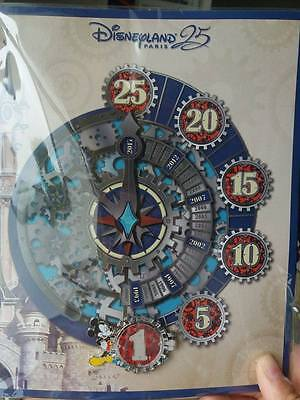 Pin DISNEYLAND PARIS DLP 25 Countdown - Nº1 EL700