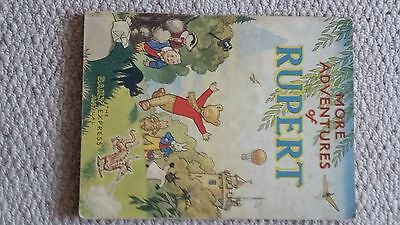 More Adventures of Rupert 1947 - good condition - war economy standard edition