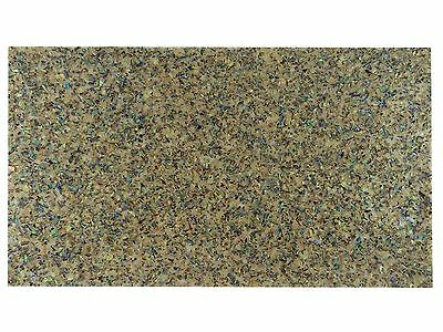 Incudo™ Green Abalone Crushed Sparkle Laminate Shell Veneer Sheet, 240 x 140mm