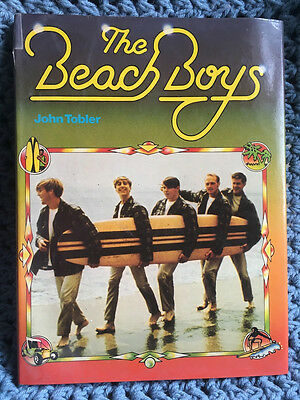 The Beach Boys by John Tobler (1978 Edition, Book, Illustrated)