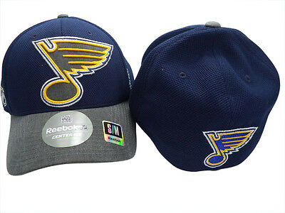 NHL St Louis Blues FlexFit Ice Hockey Cap Hat