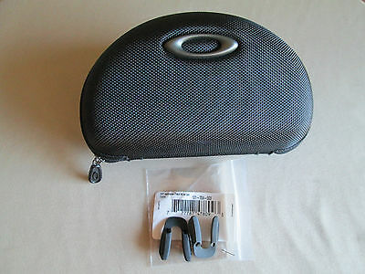 Oakley Sunglasses Xtra Large Vault Case Jawbreaker Radar Jacket w/pair Nose Pads