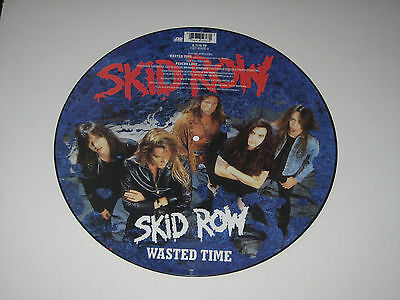 "Skid Row - Wasted Time (Atlantic Records Picture Vinyl 12""  - 1991)"