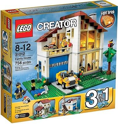 Lego 31012 Family House Brand New Sealed Creator