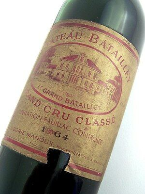 1964 CHATEAU BATAILLEY 5me Cru Classe Red Bordeaux Isle of Wine