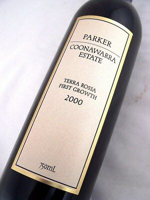 2000 PARKER Estate Terra Rossa First Growth Cabernet Isle of Wine