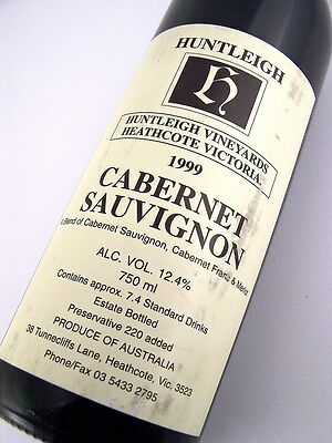 1999 HUNTLEIGH Vineyards Cabernet Sauvignon A Isle of Wine