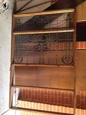 Vintage Stained Glass Window 2200 X 1460 Excellent condition