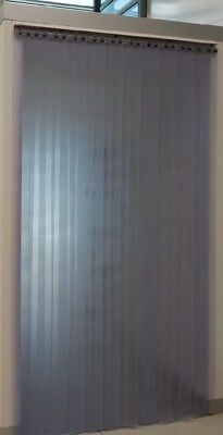 NEW OPAQUE PVC Strip Curtain Door 1000mm wide x 2150mm long 80% Non see thru