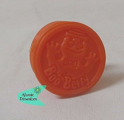 Vintage 1970s General Mills MONSTER CEREAL Secret Compartment Ring BOO BERRY