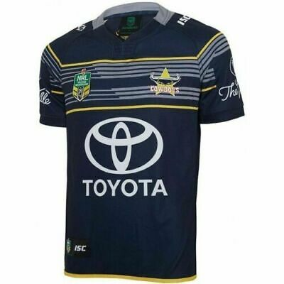 North QLD Cowboys NRL 2017 Home ISC Jersey Adults, Ladies, Kids, Toddlers + WALL