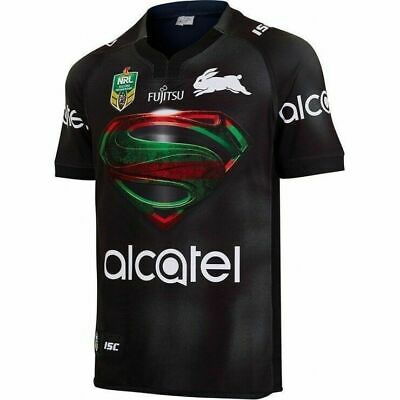 South Sydney Rabbitohs 2017 NRL Superman Jersey Adult, Ladies, Kids + FREE SCARF